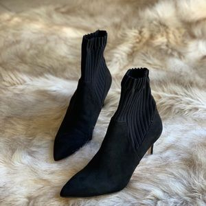 ZARA THICK SOCK STYLE ANKLE BOOTS